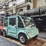 Стартап XYT представил городские модульные электрокары.