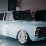 Концерн «Калашников» представил «убийцу» Tesla: электромобиль на базе Иж