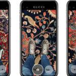 Gucci добавили в приложение AR-технологию для примерки кроссовок