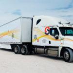 В США беспилотная фура впервые выехала на шоссе без водителя в кабине