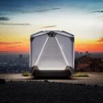 Бывшие сотрудники Tesla и SpaceX разработали палатку Jupe за $17,5 тыс